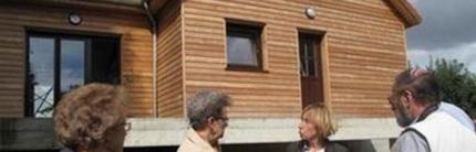 Une maison en bois aux vertus « écolo »